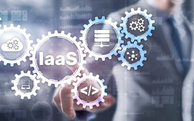Iaas,Infrastructure,As,A,Service.,Blue,Online,Gear,Internet,And